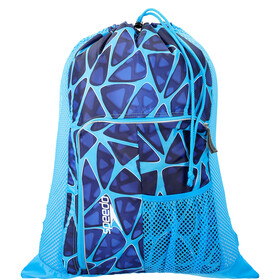speedo Deluxe Ventilator Mesh Bag 35l cage blue